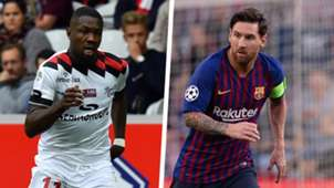 Marcus Thuram Lionel Messi Split