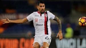 Marco Borriello Roma Cagliari Serie A 22012017