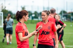 Casey Stoney Elle Turner Manchester United Women
