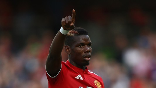 Paul Pogba Manchester United 02082017
