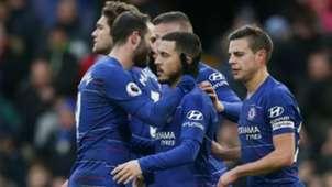 Gonzalo Higuain Eden Hazard Chelsea 02022019