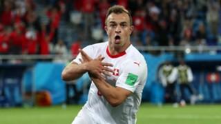 Xherdan Shaqiri Switzerland Serbia World Cup 2018