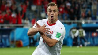 Xherdan Shaqiri Switzerland Serbia World Cup 2018