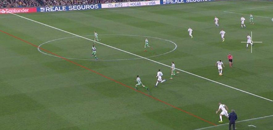 Benzema fuera de juego