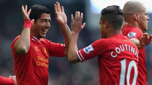 Así era la conexión entre Coutinho y Luis Suárez en el Liverpool