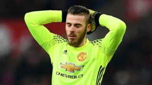 David De Gea Premier League Stoke v Man Utd 210117