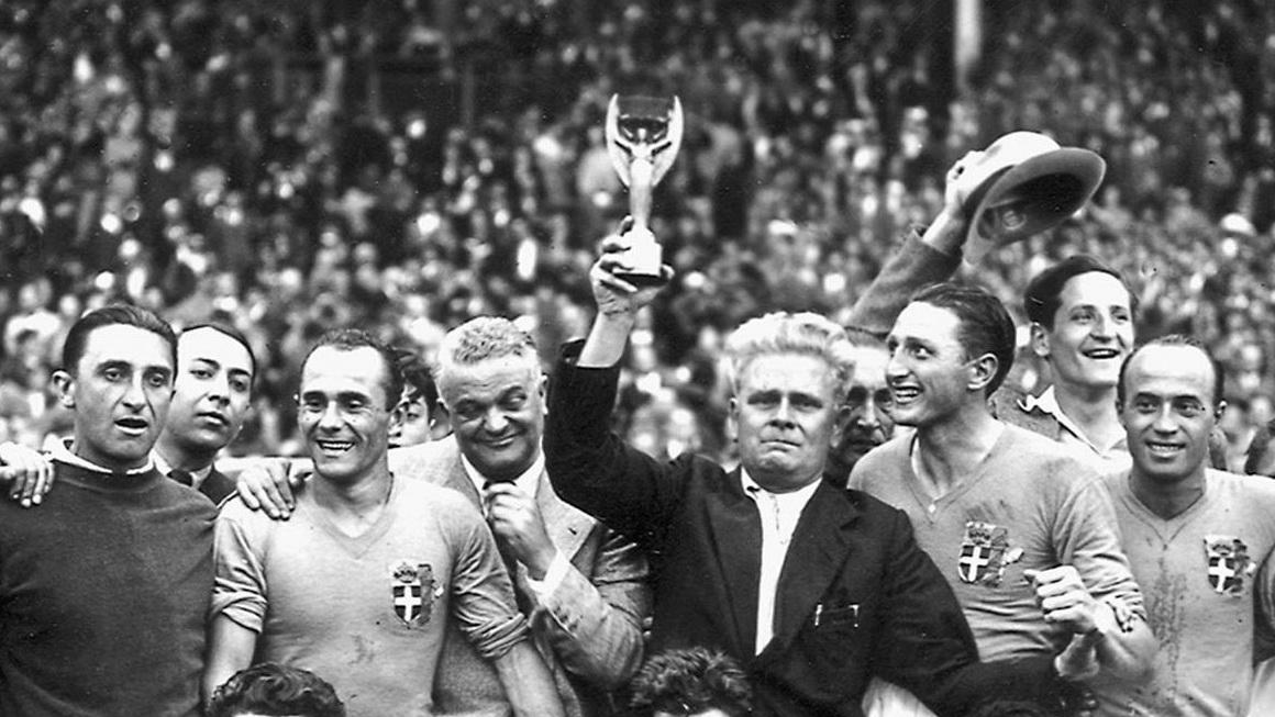Vittorio Pozzo Italia World Cup