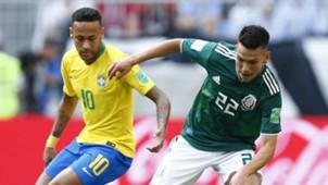 Neymar Hirving Lozano Brazil Mexico 2018