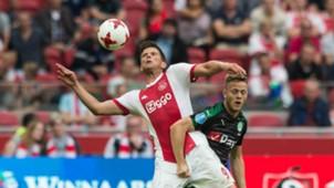 Klaas Jan Huntelaar - Ruben Jenssen, Ajax - Groningen, Eredivisie 08202017