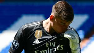 Андрей Лунин, Реал