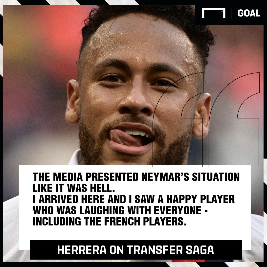 Herrera on Neymar GFX