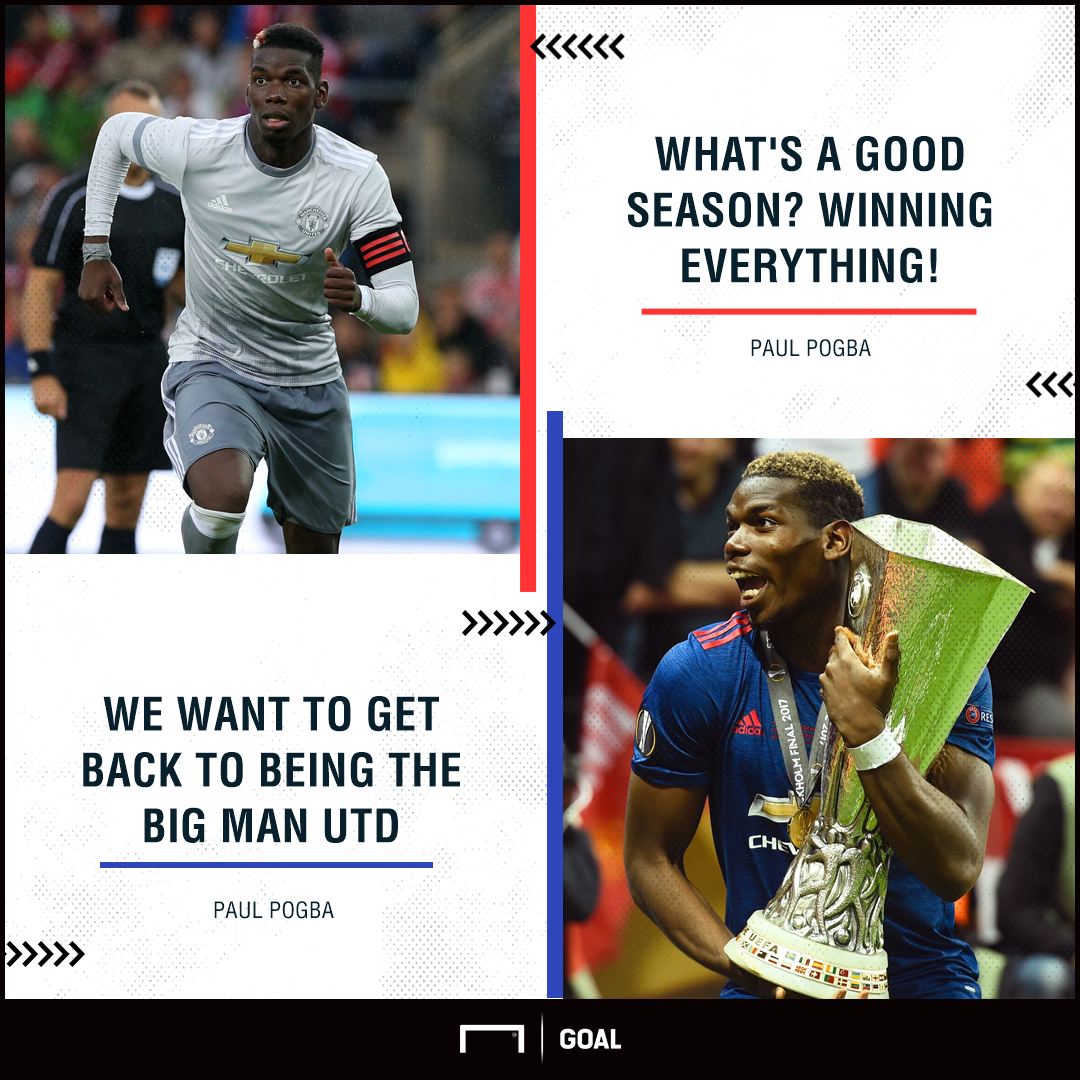 Paul Pogba Manchester United win everything