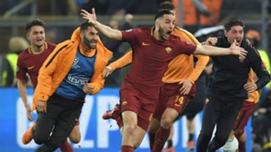 Kostas Manolas Roma Barcelona UCL 04102018