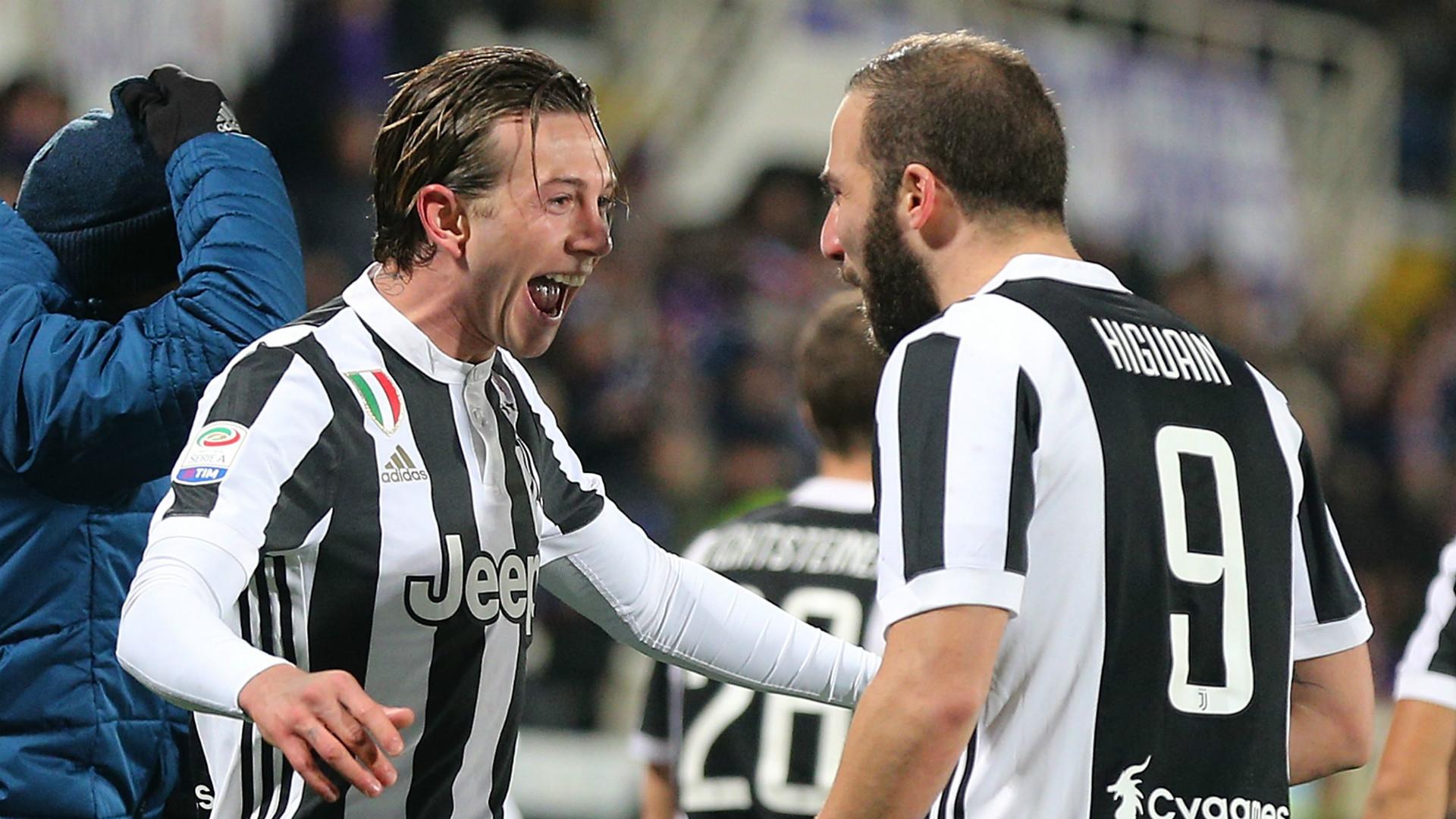 Federico Bernardeschi Gonzalo Higuain Juventus