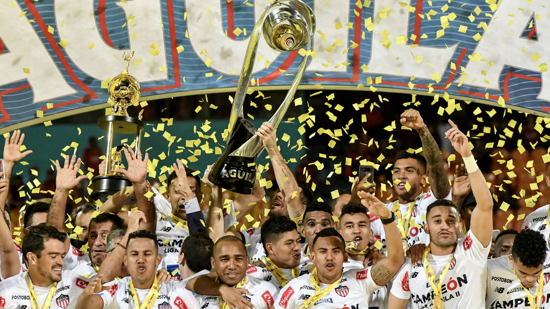Junior de Barranquilla se coronó campeón de la Liga Águila II