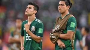 Chucky Lozano Erick Gutiérrez Selección mexicana 300818