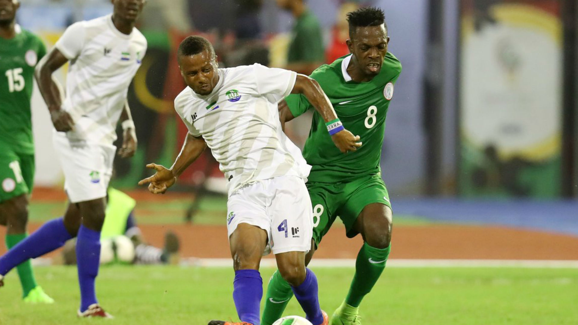 Nigeria versus Sierra Leone