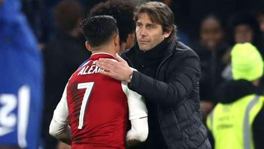 100118 Arsenal Chelsea Antonio Conte Alexis Sánchez