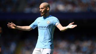 David Silva Manchester City 06052018