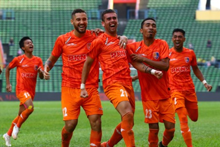 Lucas Espindola, PKNS, Perak, Super League, 11 Feb 2017
