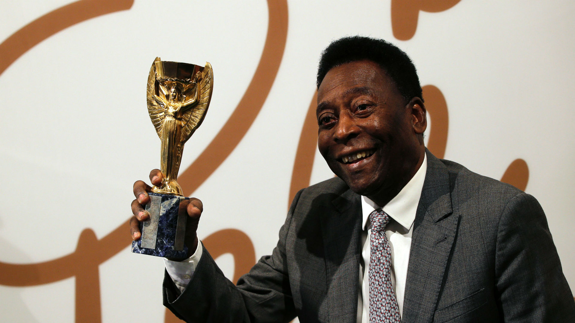 Jules Rimet Trophy Pele