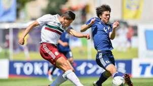 México Japón Selección mexicana Toulon
