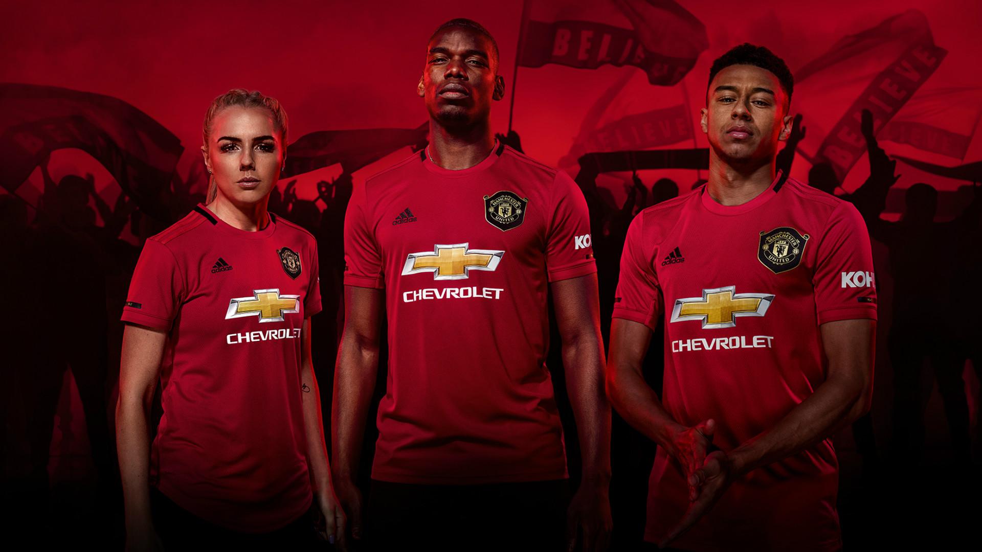 Manchester United Home Kit 2019-20