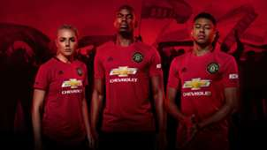 Manchester United Home Kit 2019-20