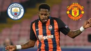 Fred, Shakhtar Donetsk, Man City, Man Utd