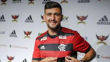 Arrascaeta apresentação Flamengo 14012019