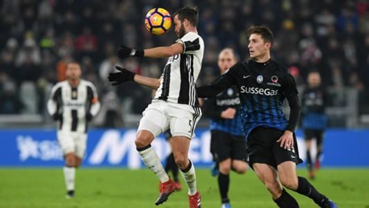 Miralem Pjanic Mattia Caldara Juventus Atalanta Coppa Italia