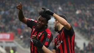 Franck Kessié Hakan Calhanoglu Milan Parma