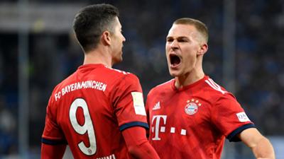 Lewandowski Kimmich Bayern 2018-19