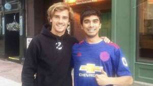 Griezmann photo fan Boston