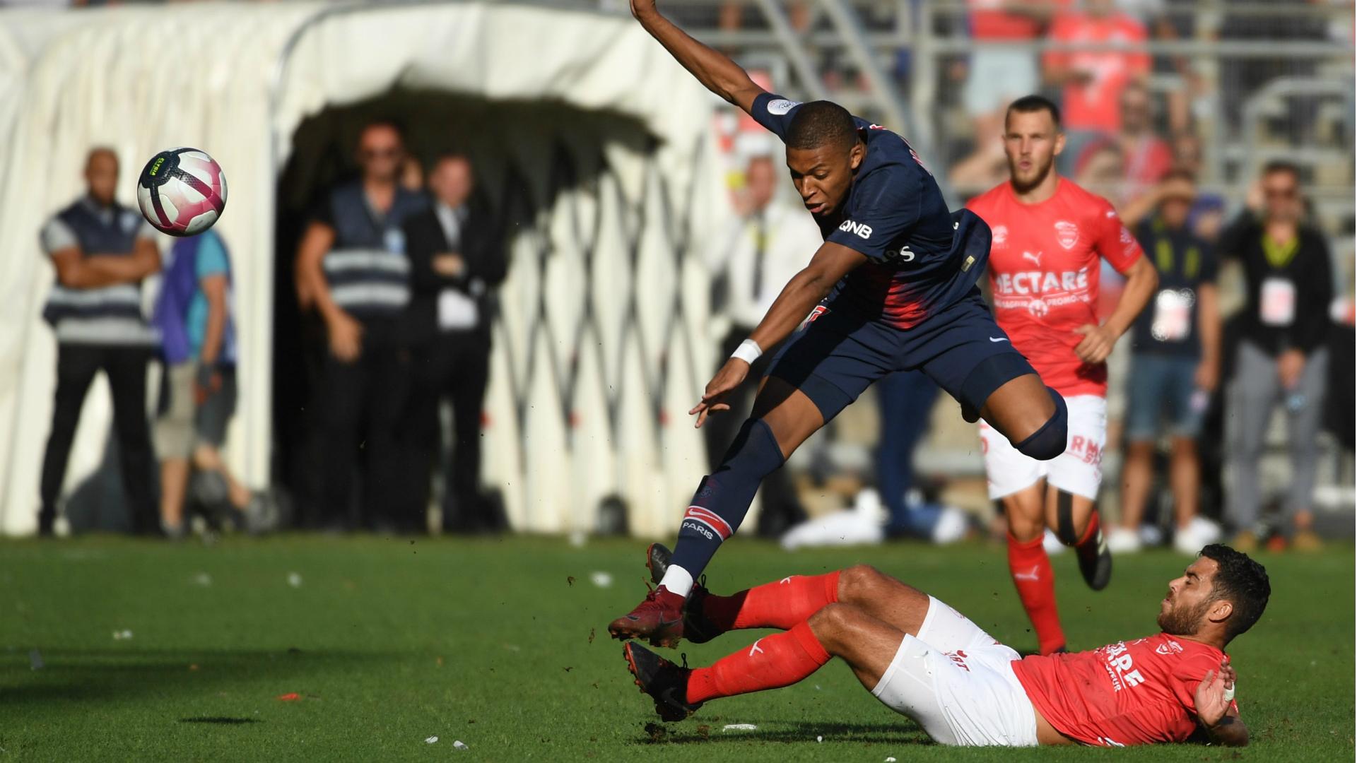 PSG striker Mbappe handed 3-match ban for red card