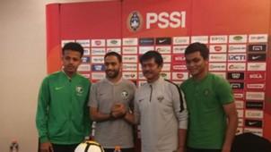 Jumpa Pers Timnas Indonesia U-19 vs Arab Saudi U-19