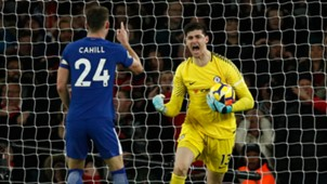 Thibaut Courtois Chelsea Arsenal