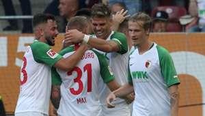 FC Augsburg gelingt Befreiungsschlag gegen Eintracht Frankfurt