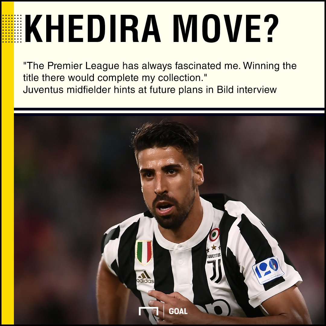 Sami Khedira Premier League move