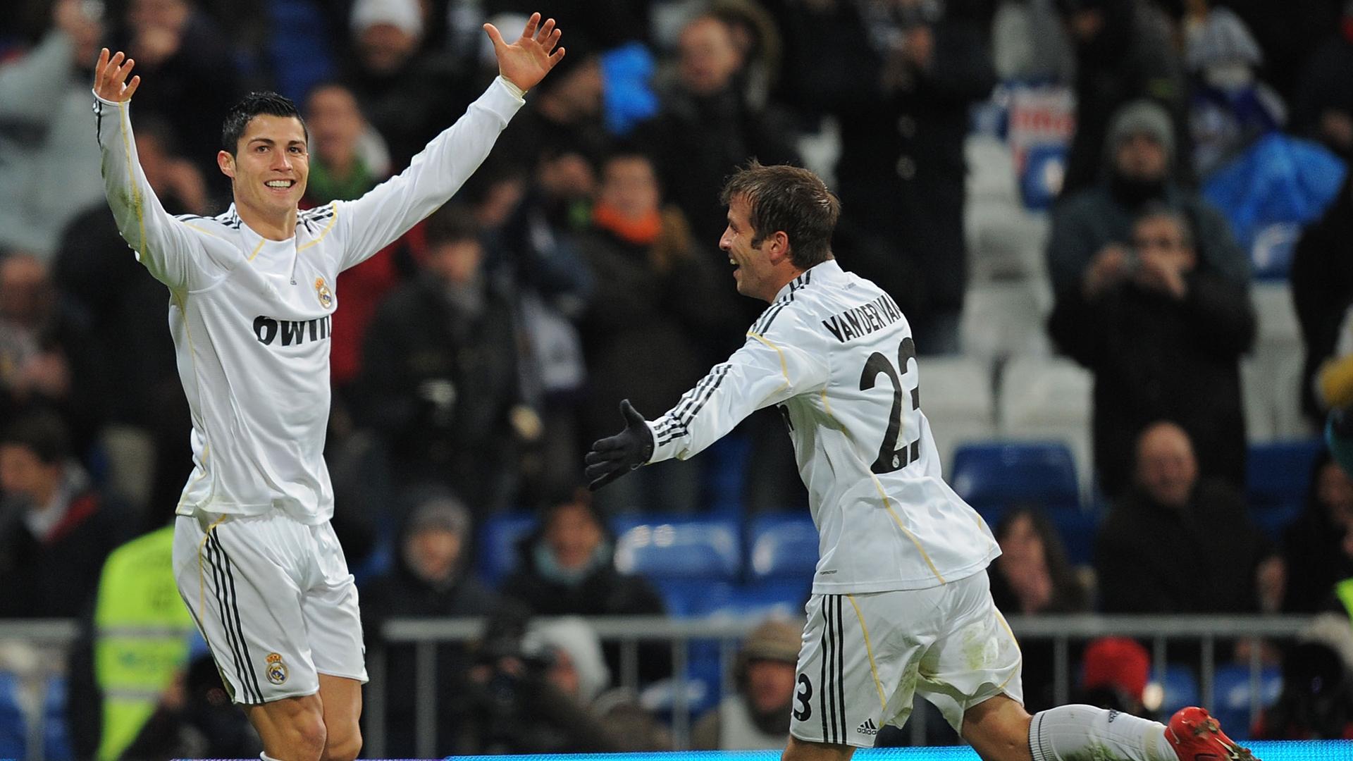 Cristiano Ronaldo Rafael van der Vaart 2009