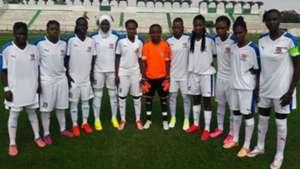 Gambia women team