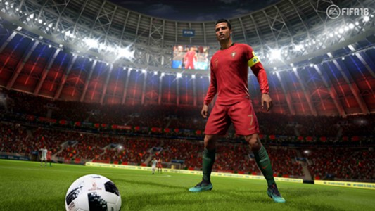 Cristiano Ronaldo FIFA 18 GFX