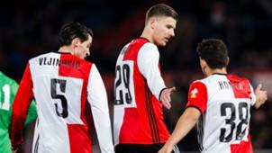 Marco Vejinovic, Michiel Kramer, Feyenoord, 03222017