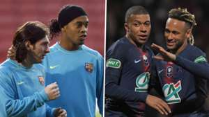 Ronaldinho made way for Messi at Barca - Neymar exit would allow PSG to build around Mbappe