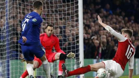 Eden Hazard Chelsea Arsenal