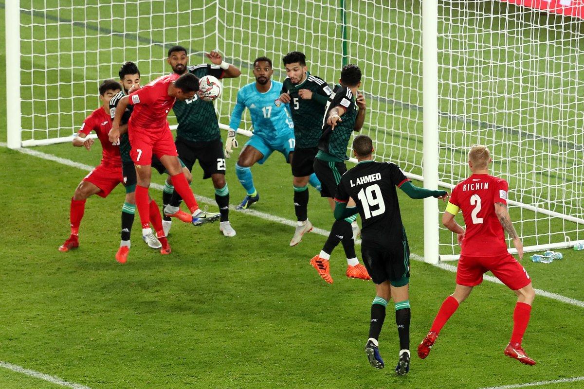 Rustamov's equalizer against UAE