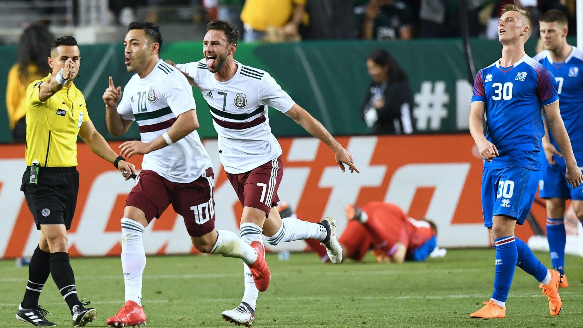 México vs Islandia