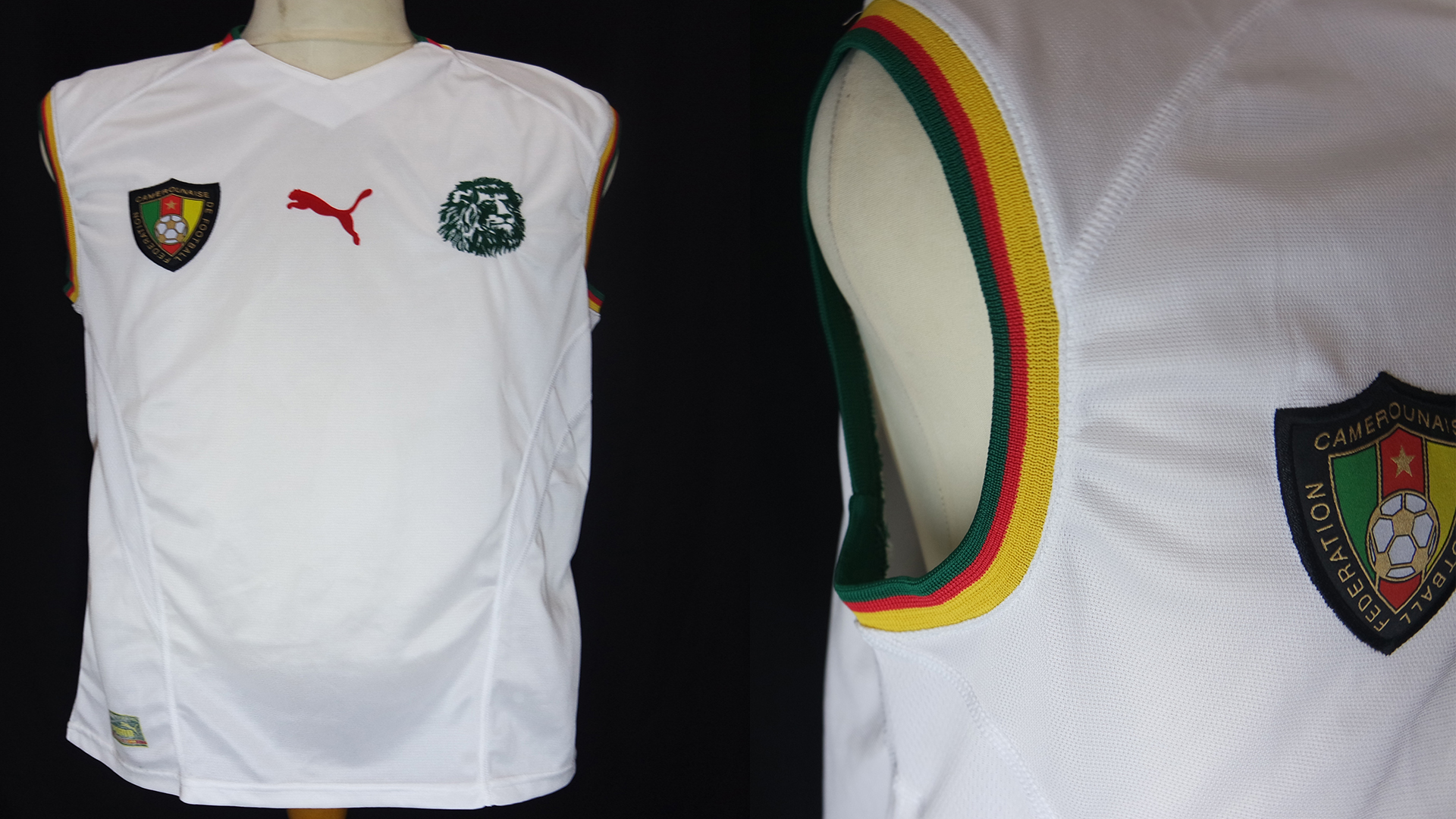 Jersey Cameroon Away World Cup 2002