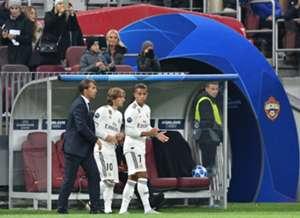 Lopetegui Modric Mariano Real Madrid