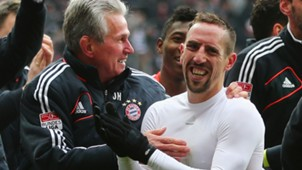 Jupp Heynckes Franck Ribery 2013
